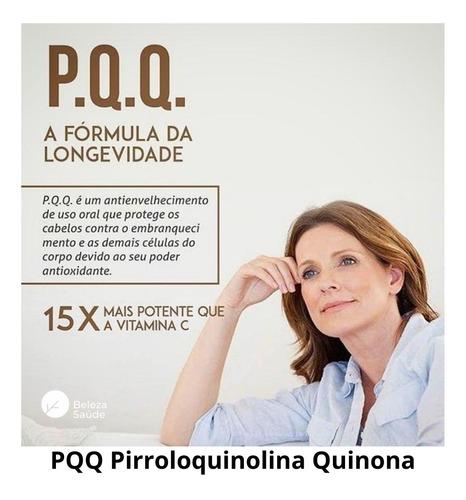 Imagem 1 de 4 de Pqq ® 11,5mg Pirroloquinolina Quinona : 140 Cápsulas Veganas