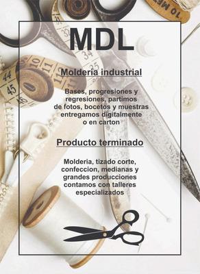 Modelista Indumentaria Patrones Bases Textil