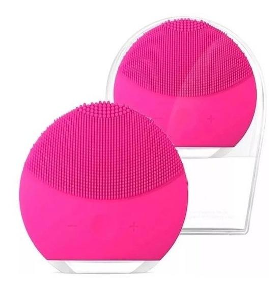 Massageador De Rosto Vibra A Prova D´água Limpeza Facial