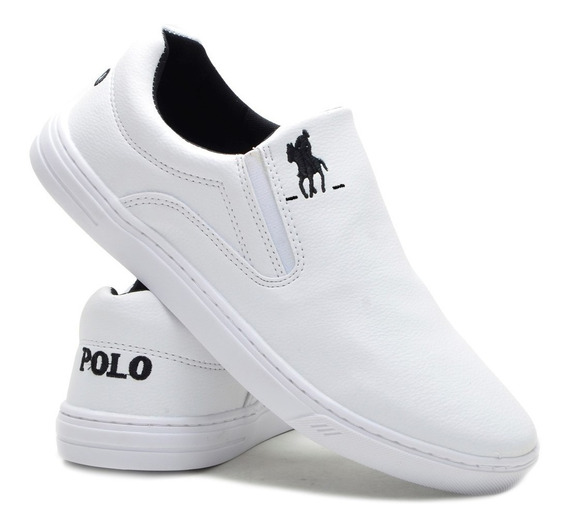 Sapatenis Polo Plus Original Branco| Preto | Azul | Marrom