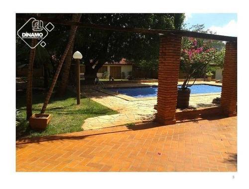 Chácara Com 4 Dormitórios À Venda, - Recreio Anhangüera - Ribeirão Preto/sp - Ch0035