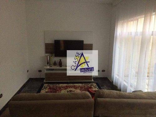 Imagem 1 de 8 de Casa Com 3 Dormitórios À Venda, 188 M² Por R$ 500.000 - Jardim Zaira - Mauá/sp - Ca0285