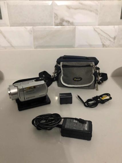 Filmadora/camera Sony Dcr-sr200