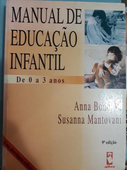 Livro Manual De Educação Infantil