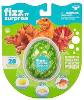 Fizz N Surprise Dinosaurio Figura Sorpresa Original Jyj19097