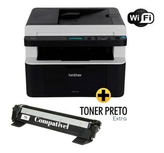 Impressora Multifuncional Brother Dcp-1617nw + Toner Extra