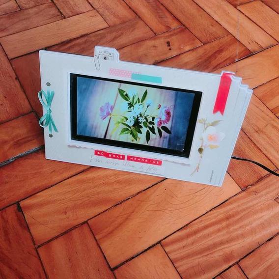 Porta Retrato Digital Imaginarium Com Diversas Funções