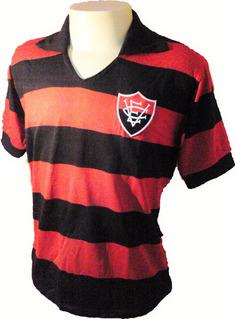 Camisa Retrô Vitória Da Bahia 1972 ( Manga Longa )