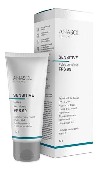Protetor Solar Anasol Clinicals Sensitive Fps 99 40g