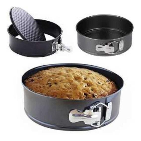 Molde Torta Teflon Desmontable 28 X7cm Bizcochuelo $um