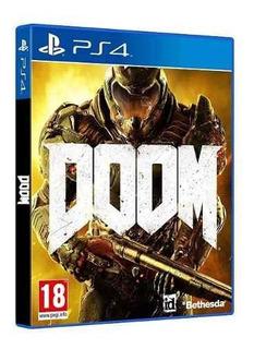 Juego Ps4 Doom (eu)