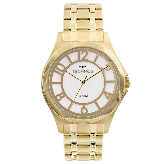 Relógio Technos Trend 2036mfpa/4d Dourado