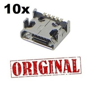 Lote Atacado 10x Conector Carga Lg E400 L3 L5 L7 L20 L30 L70