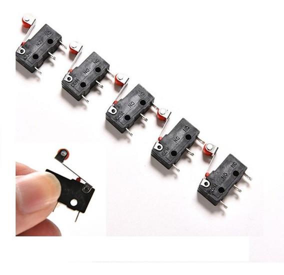 5 X Chaves Fim De Curso Micro Switch Interruptor