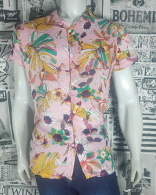 Camisa Masculina Estampa Floral Viscose - Oferta Do Dia!