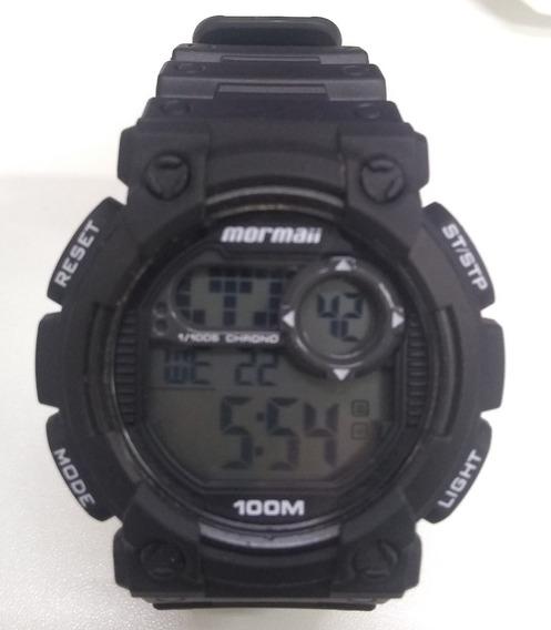 Relógio Digital Mormaii Mo12587 Masculino Preto De Vitrine