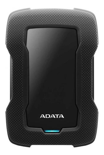 Imagen 1 de 3 de Disco duro externo Adata AHD330-1TU31 1TB negro