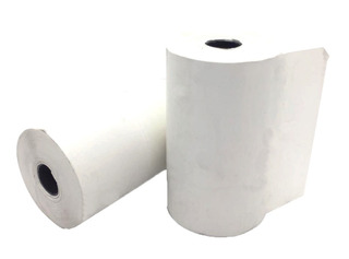 Pack 10u Rollo De Papel Termico 75 Mm X 30 Mts