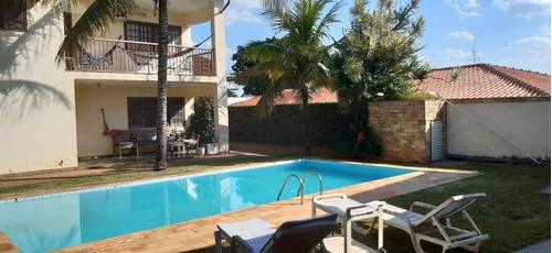 Imagem 1 de 12 de Casa Com 6 Dormitórios Para Alugar, 452 M² Por R$ 10.600/mês - Jardim Das Paineiras - Campinas/sp - Ca0298
