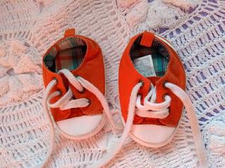 Zapatillas Naranjas Bebé Talle 3 De Usa Gymboree