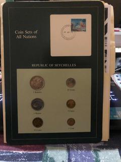 Set De Monedas Seychelles