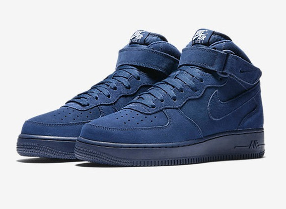 Nike Wmns Air Force 1 Mid Binary Blue Mid