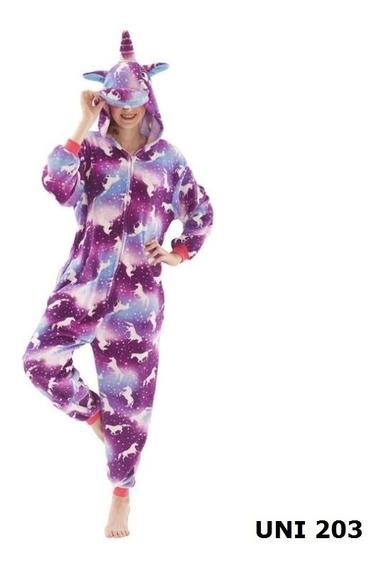Pijama Kigurumi Niños Unicornios Animales Mameluco Disfraz