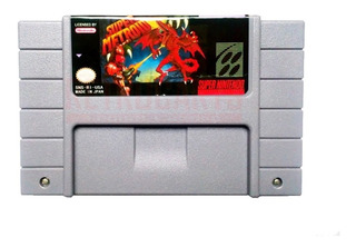 Super Metroid Placa Original Snes Super Nintendo