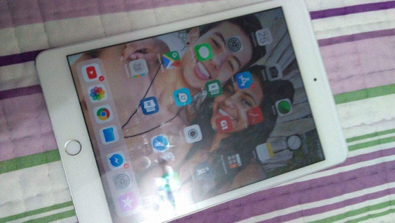 iPad Mini 4, 36gb Cinza Espacial, Biometria 4g Wifi