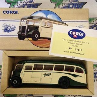 Onibus Leyland Tiger Maypole Coaches Corgi Limited 1/43