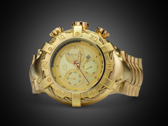 Relógio Masculino Original Dourado Super Promoção !