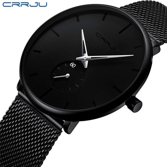 Relógio Crrju 2150 Original Ultra Fino Casual Pronta Entrega