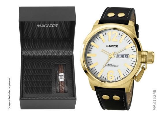 Relógio Magnum Original C/ Nota Fiscal Masculino Sk53