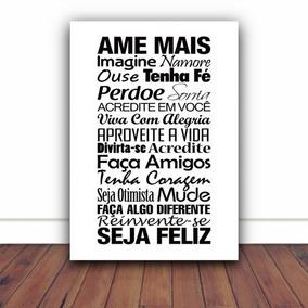 3c4ea3a2e Quadros Com Frases Familia - Decoração no Mercado Livre Brasil