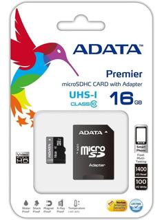 Memoria Micro Sd Adata 16gb Uhs-i Clase 10 - Revogames
