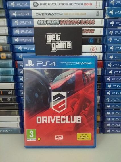 Driveclub Ps4 Drive Club Ps4 Mídia Física Semi Novo