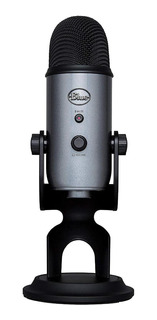 Micrófono Blue Yeti condensador lunar gray