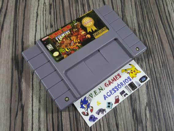 Dk1 + Mario Kart + Rei Leão P/ Super Nintendo + Garantia!