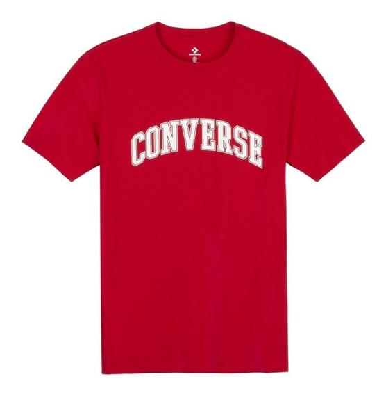 Converse Remera Lifestyle Hombre Rojo