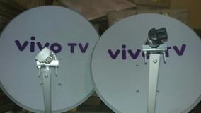 Kit 2 Antenas Ku Vivo Conpleta