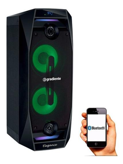 Caixa De Som Bluetooth Gradiente Gca 102 - 500w Amplificada