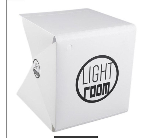 Imagen 1 de 4 de Caja De Luz Led Cubo Portátil Para Fotos Estudio