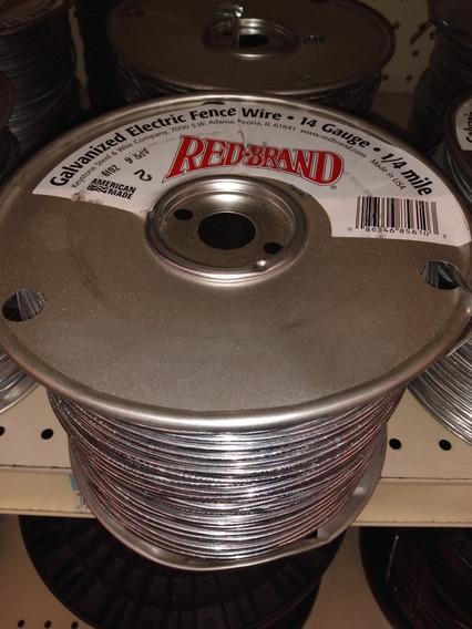 Redbrand Cable Galvanizado 14 Cerco Eléctrico Ganadero 400m