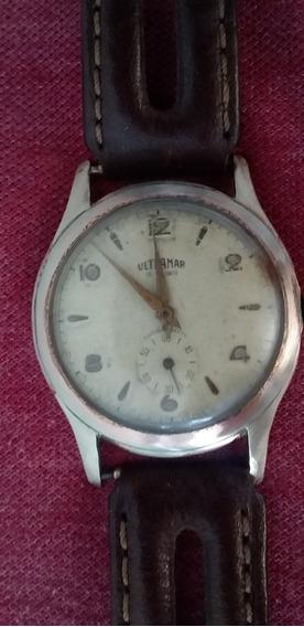 Relógio Militar A Corda De Pulso Antigo Ultramar 1940