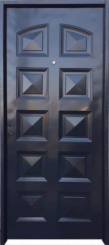 Imagen 1 de 5 de Puerta Exterior Chapa Simple 80