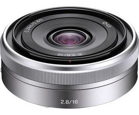 Lente Sony E 16mm F/2.8 (sel16f28) Garantia Novo