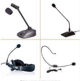 5 Espumas De Proteção Para Microfone Headset