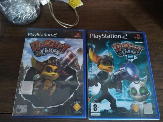 Jogos Ps2 Originais Ratchet&clank1 E 2