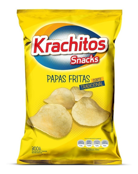 Papas Fritas Krachitos 300g