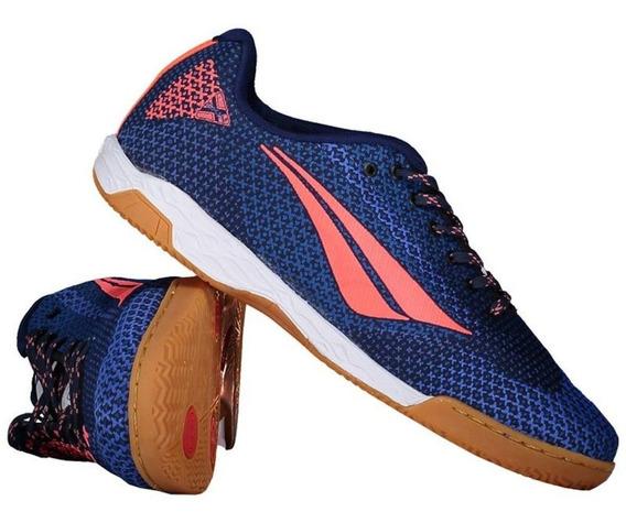 Tenis Futsal Penalty Max 500 Eosnit 8 Adulto Azul - Original